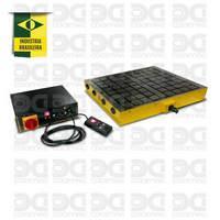 Placa eletropermanente para CNC