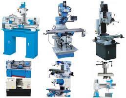 Venda de Máquinas - Fresadoras - Furadeira Ferramenteira e Tornos Mecânicos